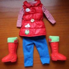 Bonecas Nancy e Lucas: CONJUNTO CON BOTAS PARA LA LLUVIA DE NANCY NEW. FAMOSA.. Lote 260762985