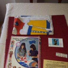 Bonecas Nancy e Lucas: CORTA Y COSE TU MISMA LOS VESTIDITOS DE NANCY - FAMOSA - AÑOS 70. Lote 261797235
