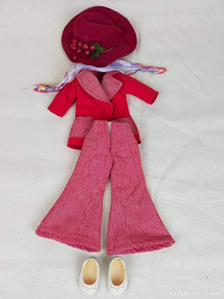 NANCY QUIRON CONJUNTO CÓRDOBA COMPLETO Y ORIGINAL (Juguetes - Muñeca Española Moderna - Nancy y Lucas, Vestidos y Accesorios)