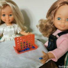 Muñecas Nancy y Lucas: JUEGO CUATRO EN RALLA PARA MUÑECA NANCY. Lote 271389698