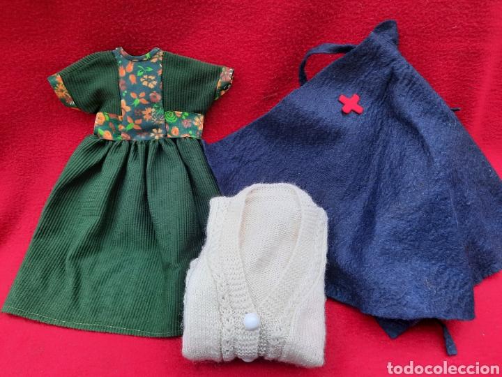 NANCY. VESTIDO Y CAPA ENFERMERA (Juguetes - Muñeca Española Moderna - Nancy y Lucas, Vestidos y Accesorios)