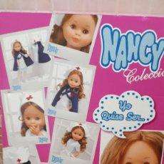 Muñecas Nancy y Lucas: NANCY ENFERMERA REEDICION 2013 CAJA VACIA. Lote 277540188