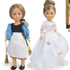 Muñecas Nancy y Lucas: DOS NANCY REEDICION ORIGINAL DE FAMOSA: NANCY TROSSEAU CENICIENTA Y VESTIDA ESPERANDO AL PRINCIPE. Lote 278523408