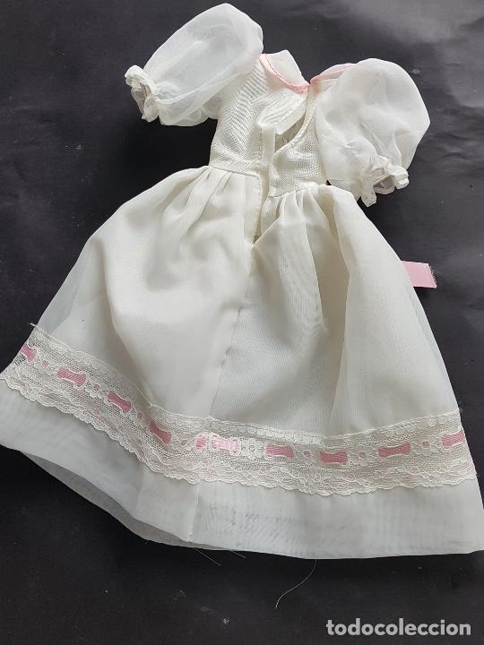 Muñecas Nancy y Lucas: nancy vestido comunion años 80-90 - Foto 4 - 278606253