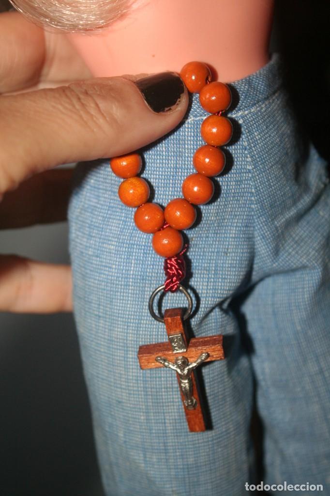 Muñecas Nancy y Lucas: crucifijo rosario valido muñeca nancy - Foto 2 - 278693463