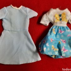 Muñecas Nancy y Lucas: DOS VESTIDOS DE FAMOSA. Lote 280152483