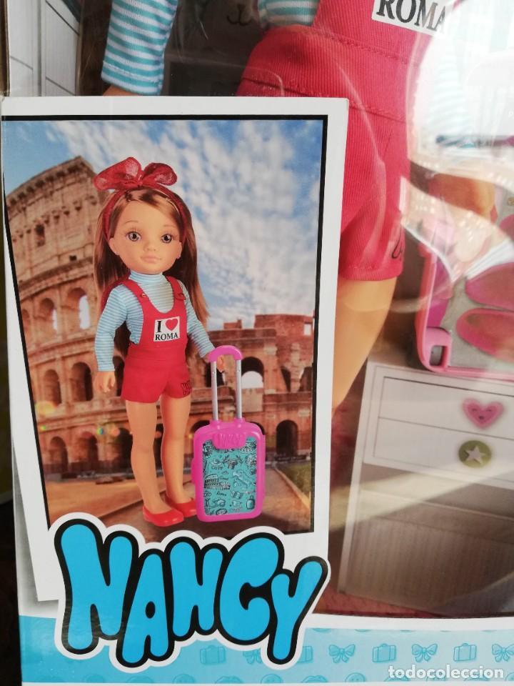NANCY NEW VIAJERA A ROMA, NUEVA A ESTRENAR (Juguetes - Muñeca Española Moderna - Nancy y Lucas)