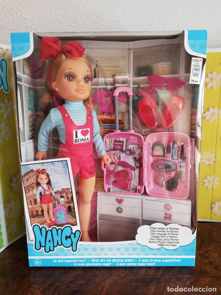 Muñecas Nancy y Lucas: Nancy new viajera a Roma, nueva a estrenar - Foto 2 - 280684583