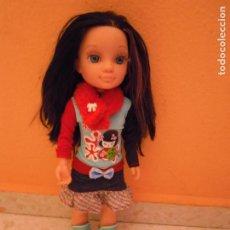 Muñecas Nancy y Lucas: NANCY FAMOSA NEW AVENTURAS POR EL MUNDO TOKIO MORENA BOTAS ROPA. Lote 286714058