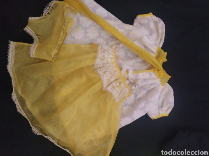 CONJUNTO BUENAS NOCHES NANCY, ETIQUETA FAMOSA N° 4 (Juguetes - Muñeca Española Moderna - Nancy y Lucas, Vestidos y Accesorios)