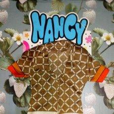 Muñecas Nancy y Lucas: DIFICIL BODY DEL CONJUNTO IBERIA MARRON DE NANCY AZAFATA - FAMOSA - 1979. Lote 288291218