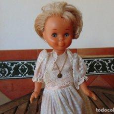 Muñecas Nancy y Lucas: MUÑECA NANCY DE FAMOSA , OJOS NORMALES,PECAS, PECOSA VESTIDA DE COMUNION ,PELO CORTADO. Lote 288449133