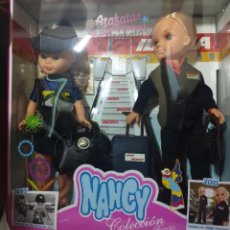 Muñecas Nancy y Lucas: PACK NANCY AZAFATA COLECCION AÑO 2010 - CEJAS CONTINUAS. Lote 288604943