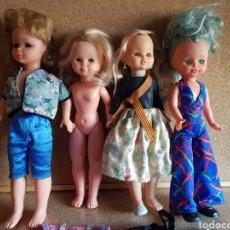 Bambole Nancy e Lucas: LOTE DE NANCY DE FAMOSA , ROPA Y OTRAS MUÑECAS. Lote 289638353