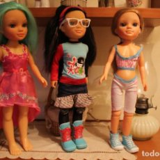 Bambole Nancy e Lucas: LOTE DE TRES NANCY NEW CON ROPA Y ZAPATOS ORIGINALES.. Lote 289638373