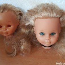 Muñecas Nancy y Lucas: 3 CABEZAS NANCY DE FAMOSA PARA RESTAURAR. Lote 290230943