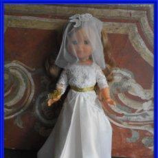 Muñecas Nancy y Lucas: MUÑECA NANCY FIRMADA ALTURA 40 CM.. Lote 291477423