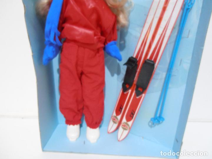 Muñecas Nancy y Lucas: MUÑECA NANCY ESQUIADORA, FUNCIONANDO, EN CAJA ORIGINAL, NUEVA SIN USAR, FAMOSA, AÑOS 80 - Foto 5 - 292309198