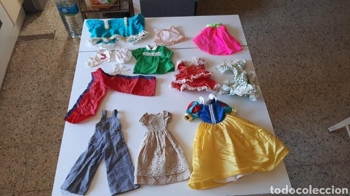 LOTE DE ROPA PARA NANCY Y LESLY (Juguetes - Muñeca Española Moderna - Nancy y Lucas, Vestidos y Accesorios)