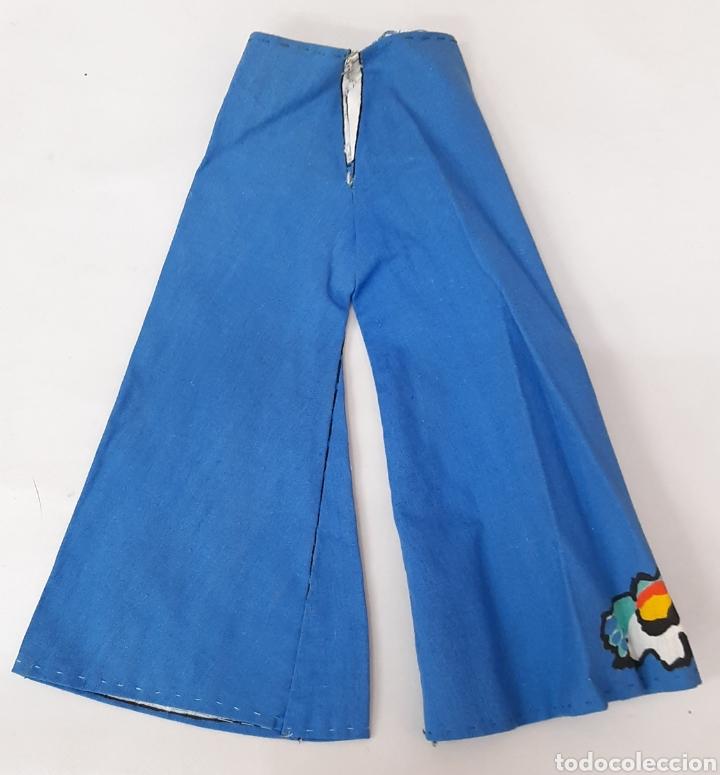 Muñecas Nancy y Lucas: Pantalón Nancy corta y cose tu misma años 70 - Foto 2 - 293588023