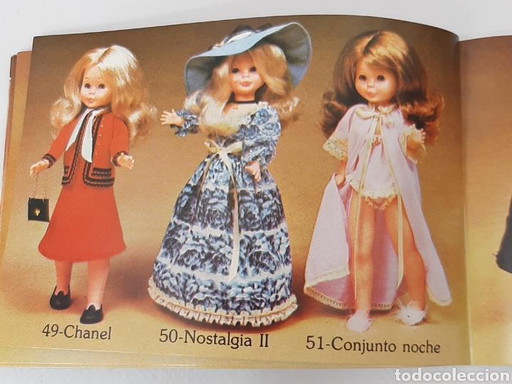 Muñecas Nancy y Lucas: Nancy Conjunto vestido y sombrero nostalgia azul años 70 - Foto 2 - 293590968