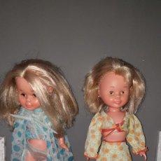 Muñecas Nancy y Lucas: 2 NANCYS ANTIGUAS PATABOLLO Y BRAZOS DUROS.. Lote 294097728