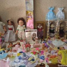 Muñecas Nancy y Lucas: INMENSO LOTE!! DE MUÑECAS Y BARBYS CON ROPA Y ACCESORIOS ‐ ALTA COLECCION. Lote 295472533