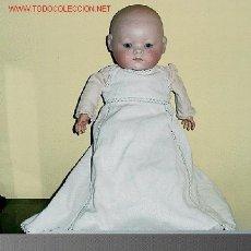 Muñecas Porcelana: BEBE DE CABEZA DE PORCELANA ALEMAN PRINCIPIOS DEL SIGLO XX. Lote 27547618