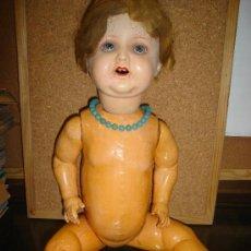 Muñecas Porcelana: MUÑECA ARMAND MARSEILLE - CABEZA PORCELANA,CUERPO DE COMPOSICION,AÑOS 30. Lote 22552619