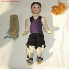 Muñecas Porcelana: CAMPESINO DE PORCELANA,AÑOS 20. Lote 18683196