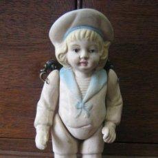 Muñecas Porcelana: ANTIGUA MUÑECA ARTICULADA DE PORCELANA O BISCUIT MEDIADOS DEL 1800 MIREN FOTOS UNA JOYA. Lote 16259791