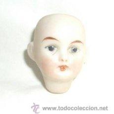 Muñecas Porcelana: ANTIGUA CABECITA DE PORCELANA DE PRINCIPIOS DEL S.XX. Lote 23744392