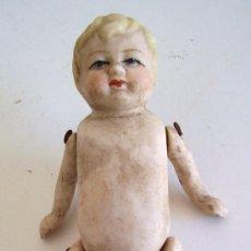 Bonecas Porcelana: PEQUEÑA MUÑECA DE PORCELANA, SIN ROPA (10,5CM APROX). Lote 23797829