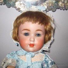 Muñecas Porcelana: ANTIGUA MUÑECA DE PORCELANA DE PRINCIPIOS DE 1900, EN LA NUCA KESTNER 201. Lote 26766062