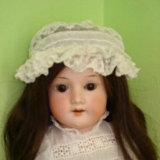 Muñecas Porcelana: MUÑECA DE PORCELANA ANTIGUA, ARMAND MARSEILLE, 42 CM. Lote 27363445