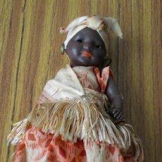 Muñecas Porcelana: MUÑECA NEGRA ALEMANA .. DE PORCELANA .. VACHKOPPELS 399 – 16 / 0. Lote 18965164