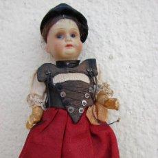 Muñecas Porcelana: MUÑECA ANTIGUA ALEMANA DE PORCELANA. Lote 27242198