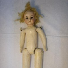 Muñecas Porcelana: MUÑECA ANTIGUA ALEMANA AM. Lote 27131758