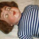 Muñecas Porcelana: GRAN MUÑECA DE PORCELANA ALEMANA AB. Lote 29964219