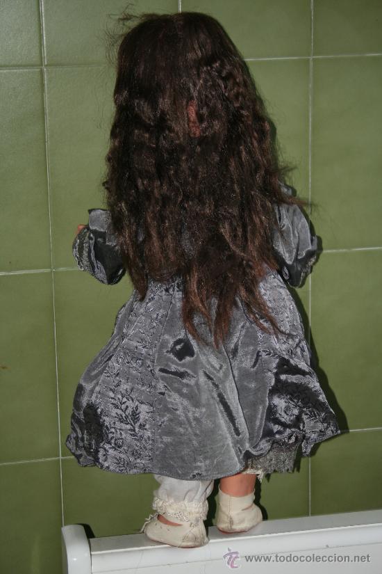 Muñecas Porcelana: antigua muñeca marcada en la nuca sb o sp - Foto 6 - 31032379