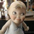 Muñecas Porcelana: ANTIGUA AUTENTICA MUÑECA KEWPIE DE PORCELANA ORIGINAL ART DECÓ ALEMANA DE PRINCIPIOS DEL XX-ES NIÑA!. Lote 32481091