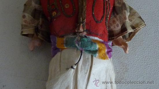 Muñecas Porcelana: Antigua muñeca de porcelana, con cuerpo de carton piedra, marcada en nuca 21 germany - Foto 4 - 33630063