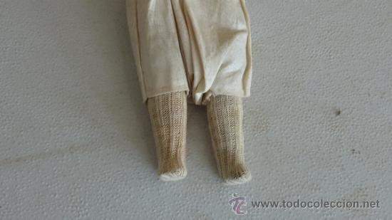 Muñecas Porcelana: Antigua muñeca de porcelana, con cuerpo de carton piedra, marcada en nuca 21 germany - Foto 5 - 33630063