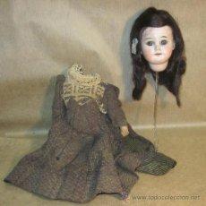 Muñecas Porcelana: RARA MUÑECA SIMON&HALBIG,PPIO DEL S.XX. Lote 34438438