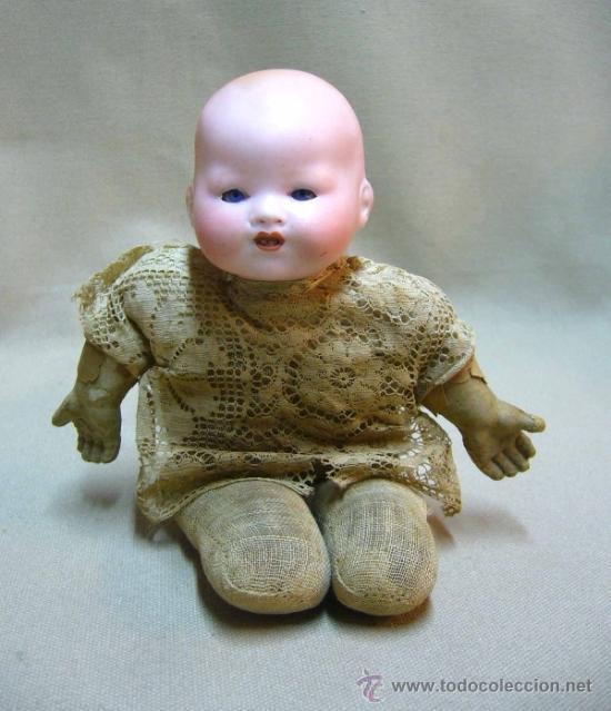 Muñecas Porcelana: MUÑECO BEBE, FABRICADA POR ARMAND MARSEILLE, CUERPO DE TELA, 351/510, ALEMANIA 1900s - Foto 2 - 38445303