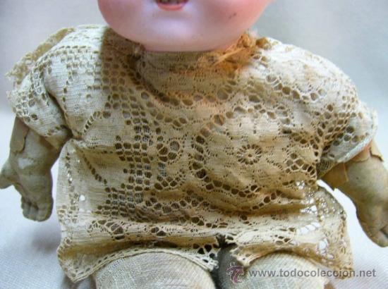 Muñecas Porcelana: MUÑECO BEBE, FABRICADA POR ARMAND MARSEILLE, CUERPO DE TELA, 351/510, ALEMANIA 1900s - Foto 16 - 38445303