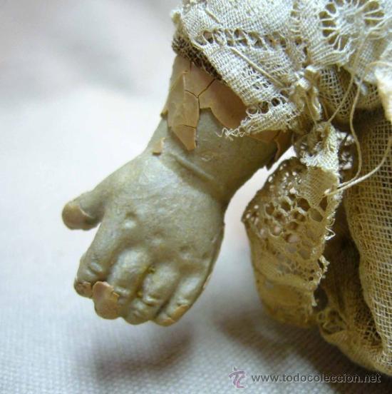 Muñecas Porcelana: MUÑECO BEBE, FABRICADA POR ARMAND MARSEILLE, CUERPO DE TELA, 351/510, ALEMANIA 1900s - Foto 9 - 38445303
