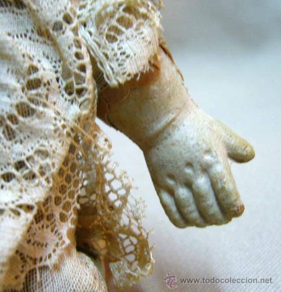 Muñecas Porcelana: MUÑECO BEBE, FABRICADA POR ARMAND MARSEILLE, CUERPO DE TELA, 351/510, ALEMANIA 1900s - Foto 8 - 38445303