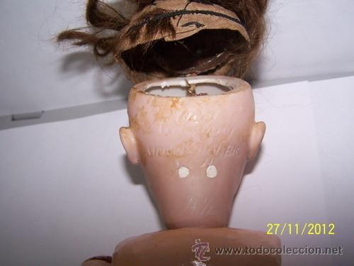 Muñecas Porcelana: Simon Halbig muñeca antigua rara - Foto 3 - 34590944