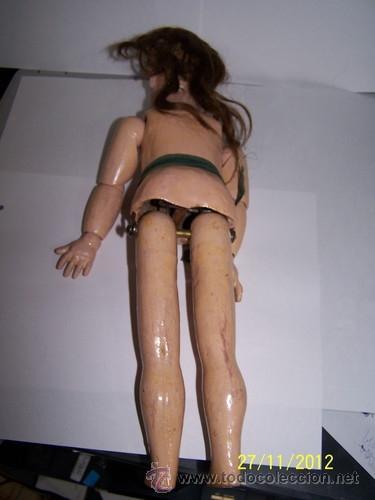 Muñecas Porcelana: Simon Halbig muñeca antigua rara - Foto 7 - 34590944